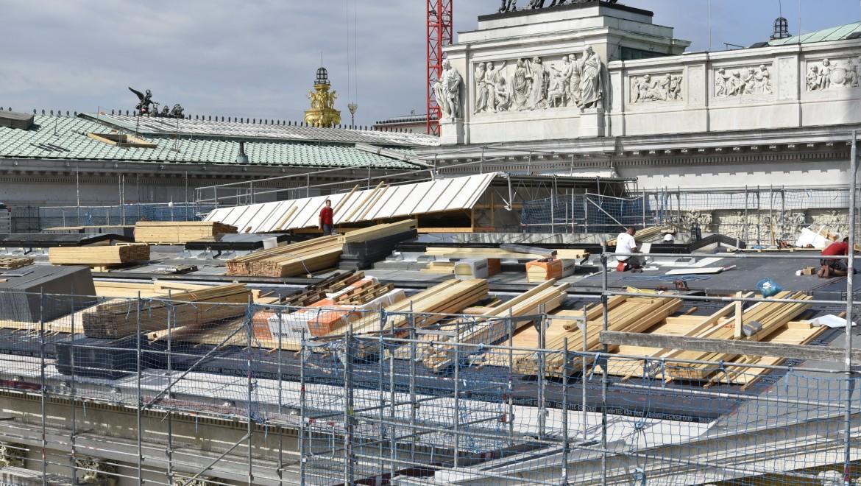 Arbeiten an der Dachhaut