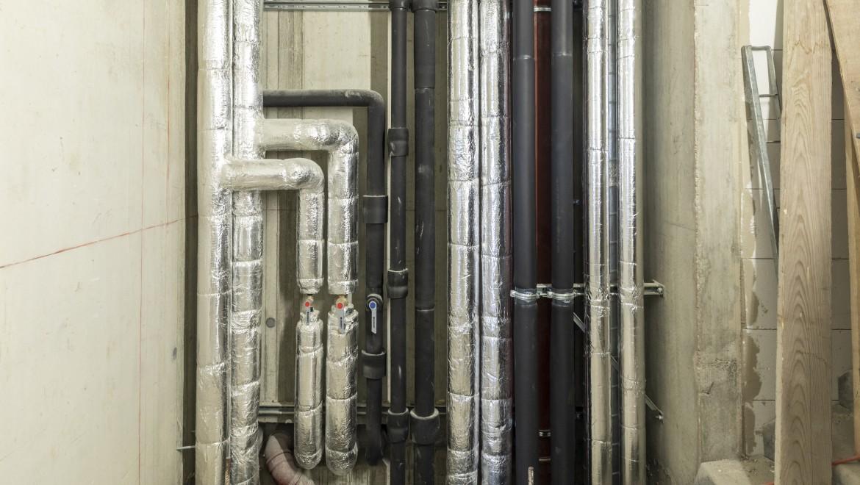 Abwasserleitungen von Geberit