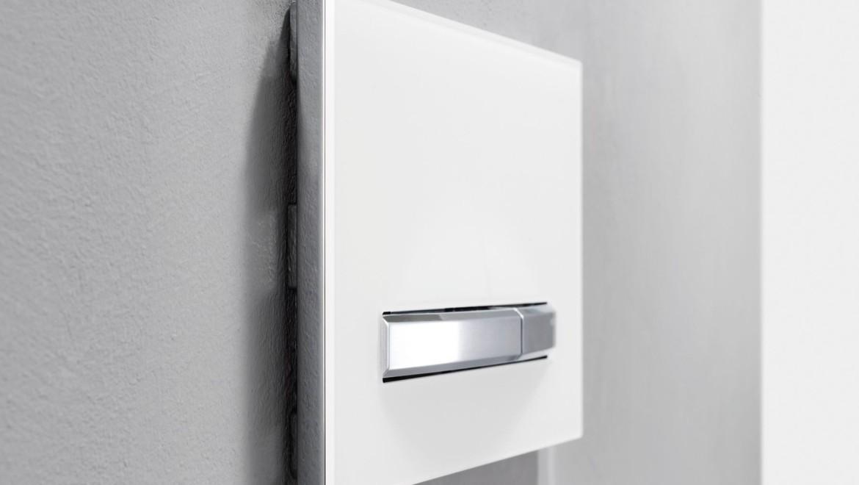 Betätigungsplatte Sigma50 mit Geruchsabsaugung für Frische in Bad und WC