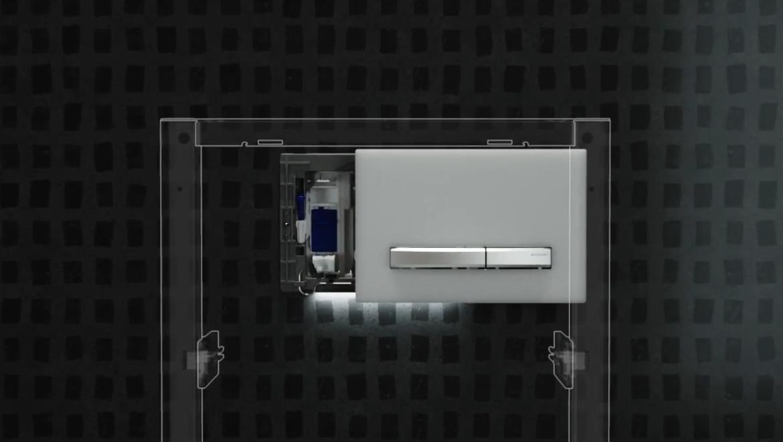 Geberit DuoFresh saugt unangenehme Gerüche direkt in der WC-Keramik ab