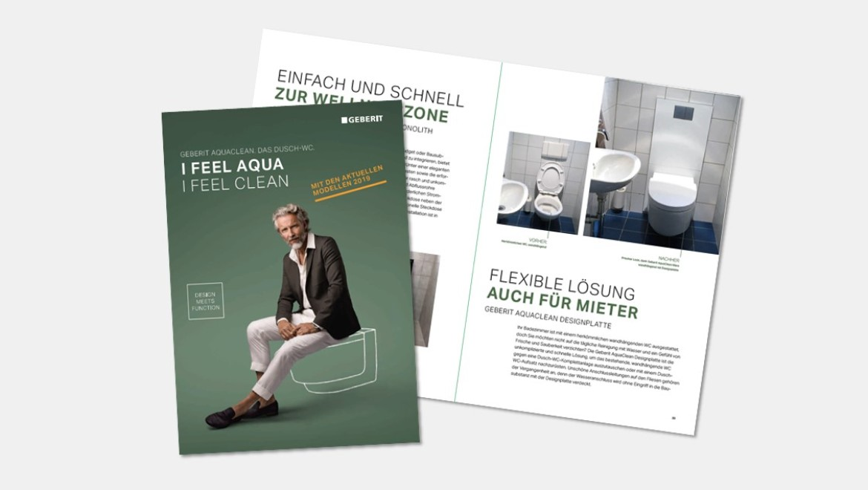Geberit AquaClean Broschüre
