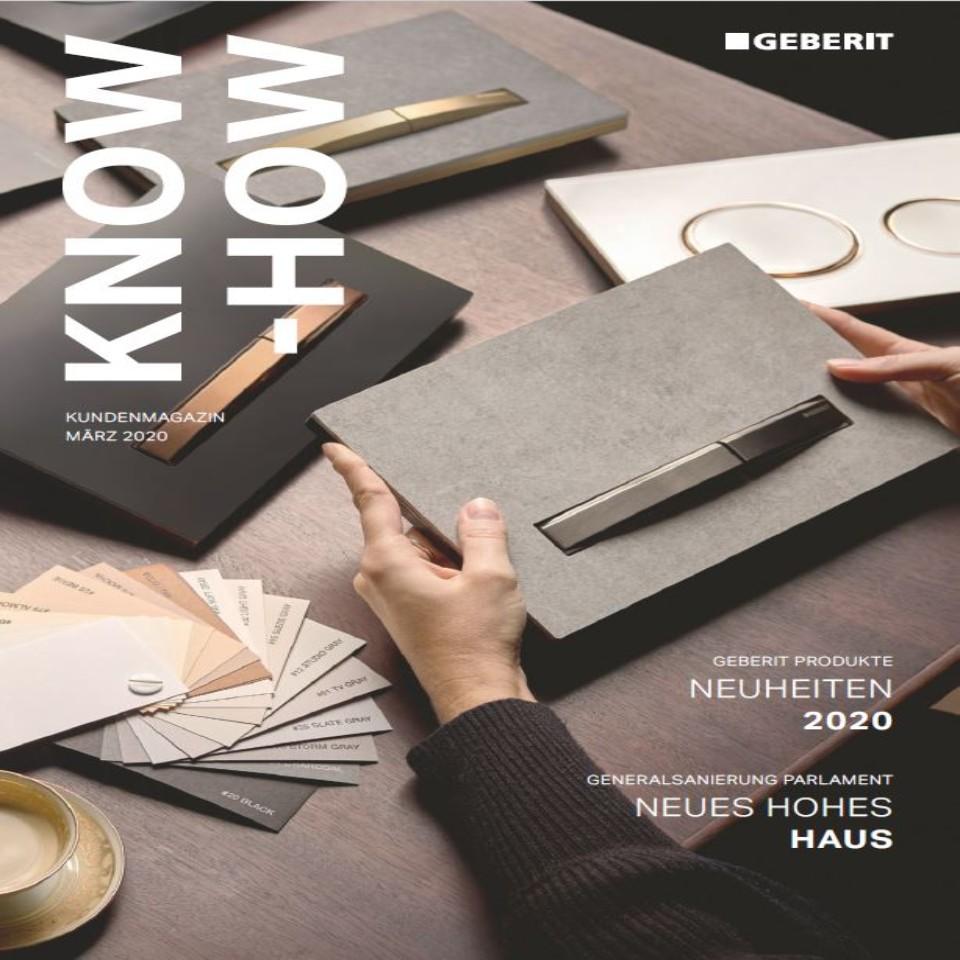 Kundenmagazin Know-how, Ausgabe März 2020