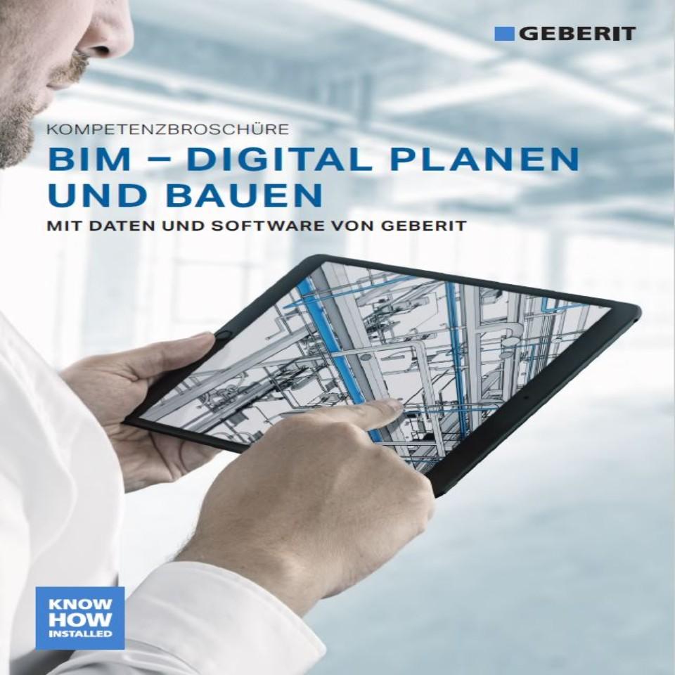 Geberit BIM Kompetenzbroschüre / Nr. 10010