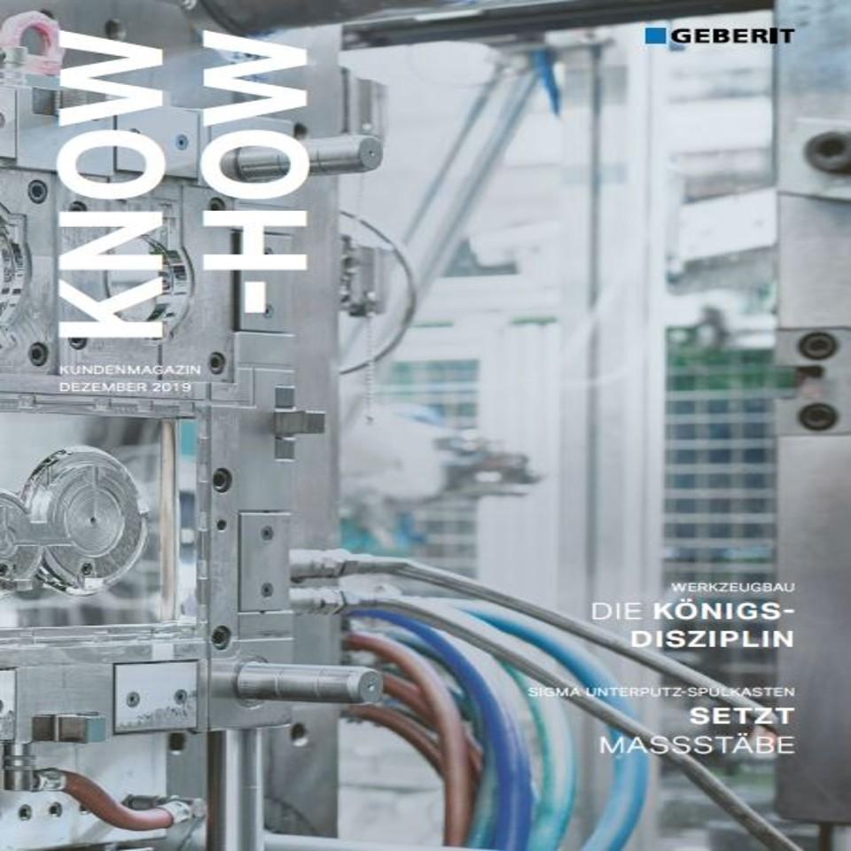 Kundenmagazin Know-how, Ausgabe Dez. 2019