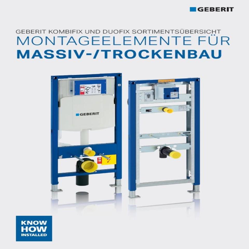 Montageelemente für Massiv- und Trockenbau / Nr. 04004
