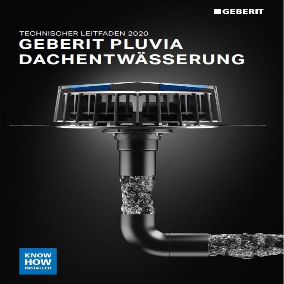 Geberit Pluvia Technische Information / Nr. 10002