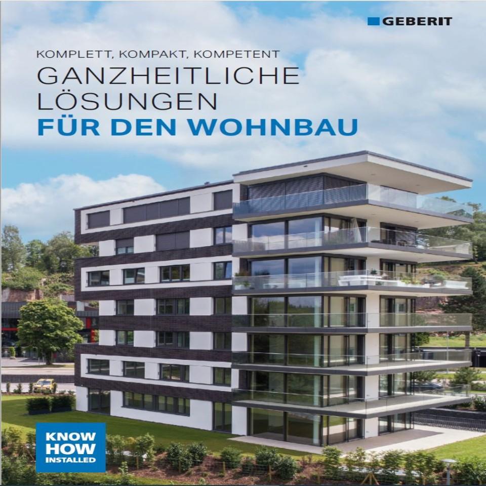 Wohnbaubroschüre Ganzheitliche Lösungen für den Wohnbau / Nr. 12001